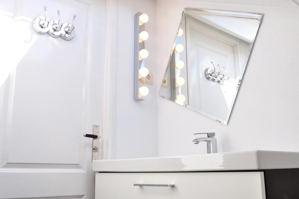 bungalow texel te huur badkamer detail